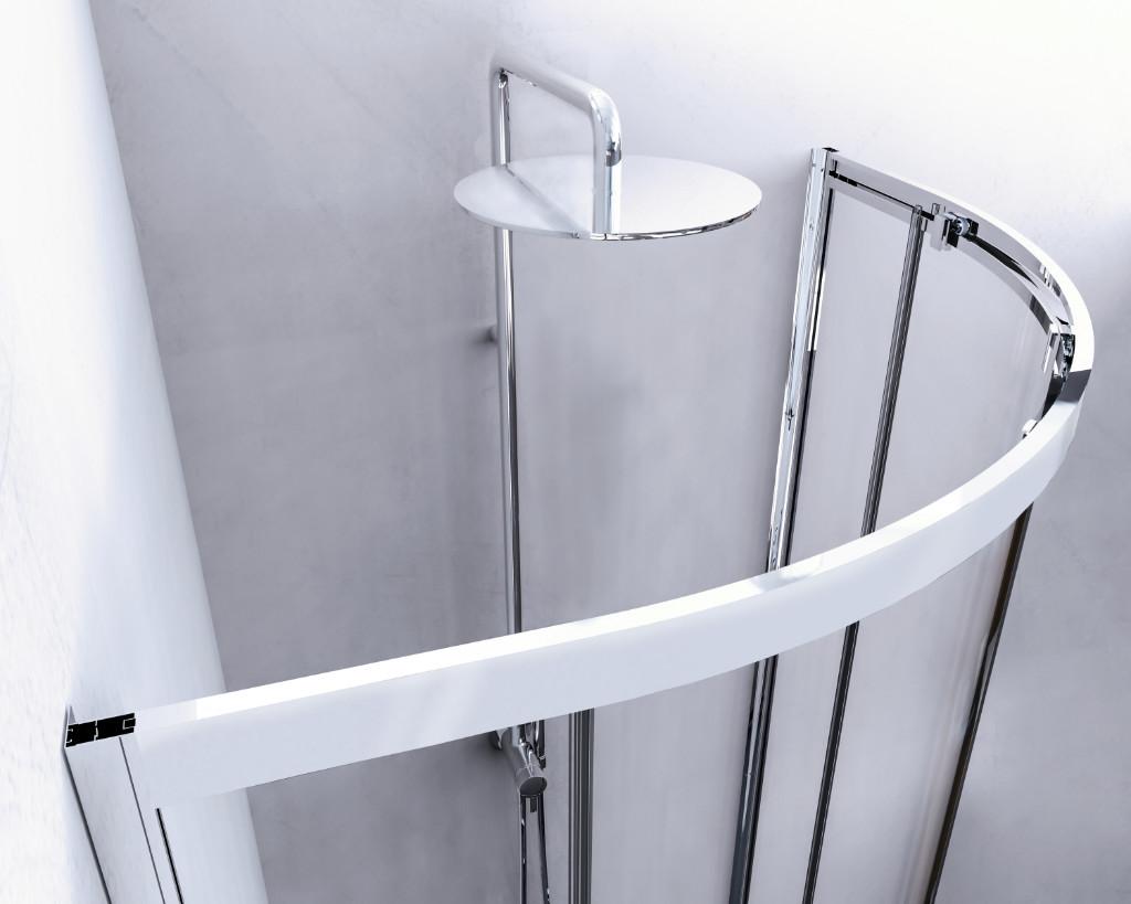 Box doccia semicurvo Giovi - dettaglio