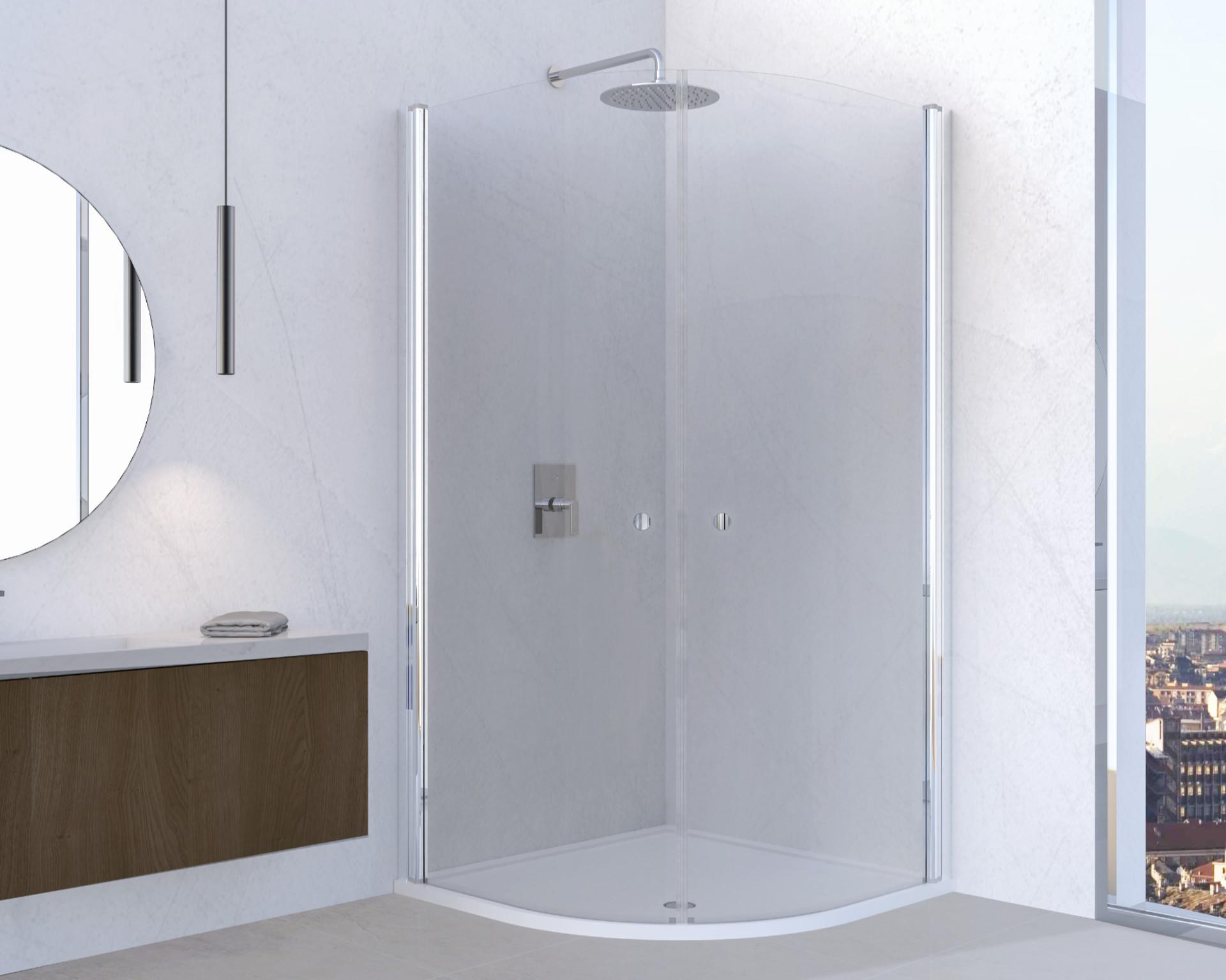 Box doccia scorrevole semicurvo Mito